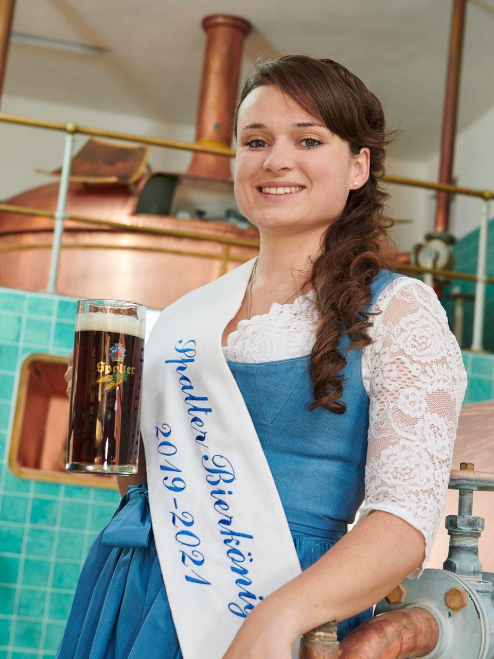 Spalter Bierkönigin Johanna Merkenschlag