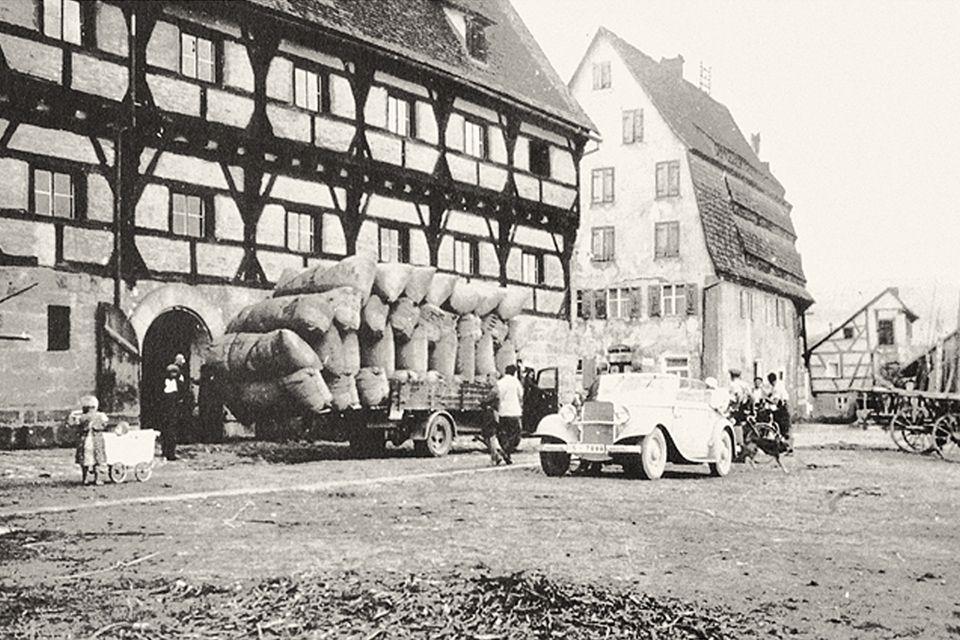 Damals als Hopfenumschlagsplatz genutzt - das HopfenBierGut