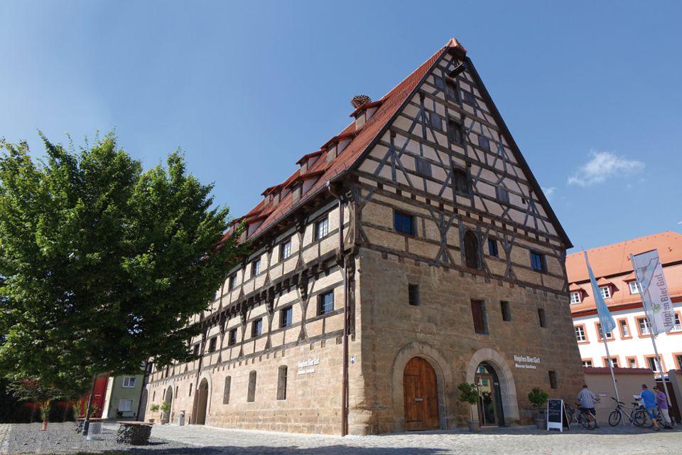 Das HopfenBierGut im Jahre 2018 - Museum, Bierwerkstatt, Museumsladen & Touristinformation