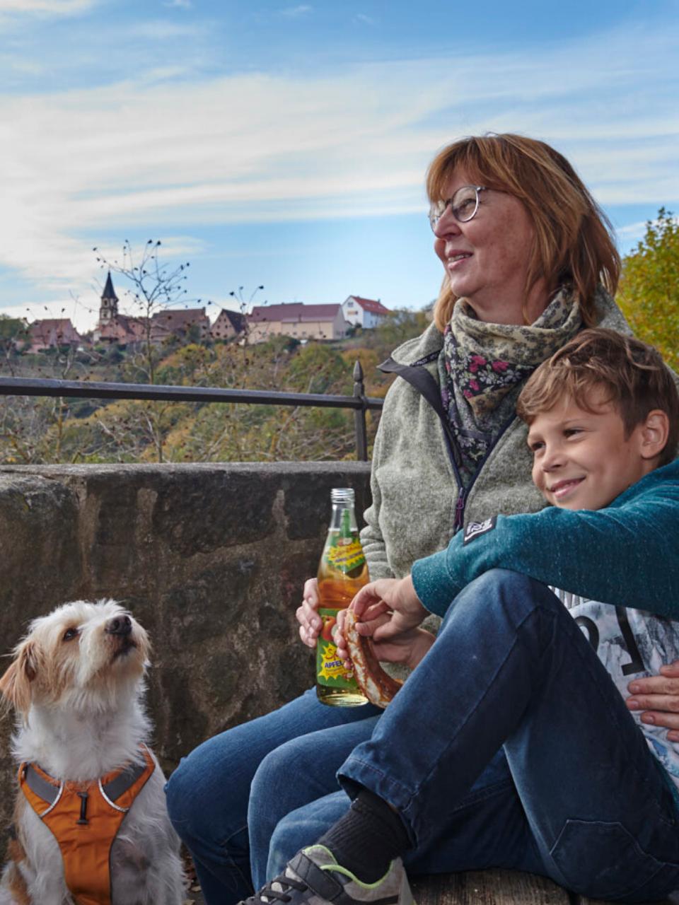 Familienfreundlich auf der Burg Wernfels