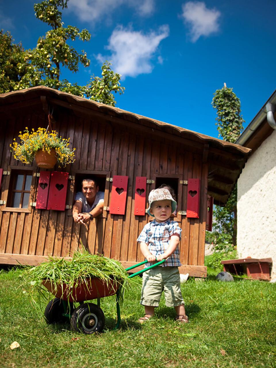 Unsere beliebten Familiendörfer laden Sie zum Urlaub ein