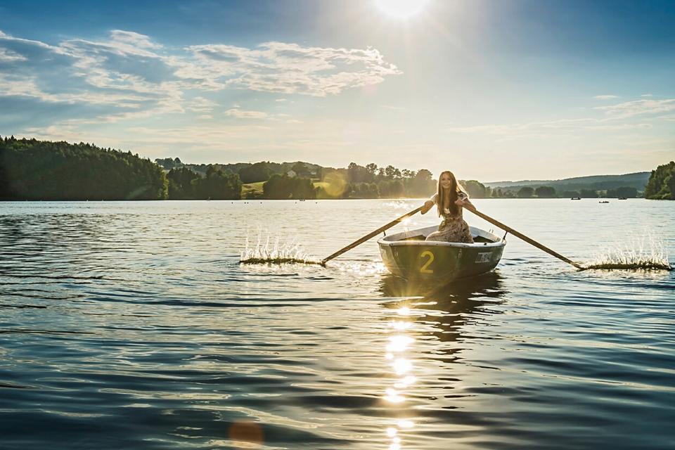 Entdecke die Schönheit des Igelsbachsees